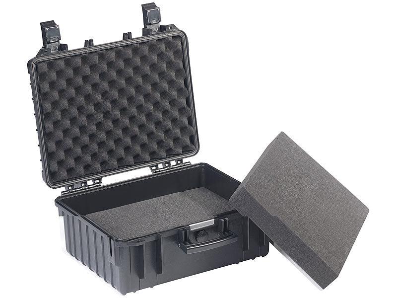und wasserdichter Koffer Staub IP67 51,5 x 41,5 x 20 cm x Case Koffer