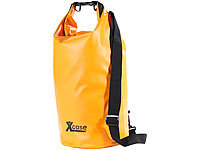 Xcase Wasserdichter Packsack 16 Liter, orange