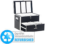 Xcase CD/DVD/BD-Koffer für 1000 CD/DVD/BDs (refurbished)